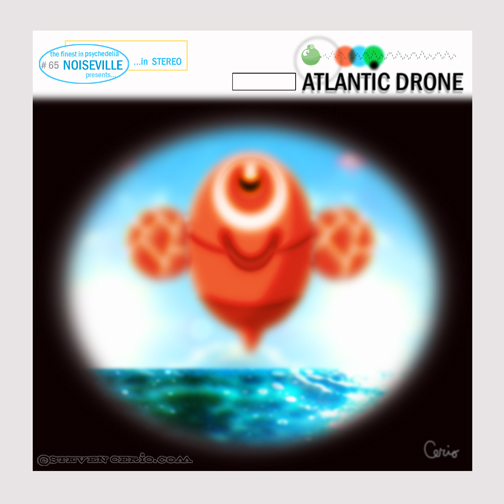 ATLANTIC DRONE cd cover/NOISEVILLE